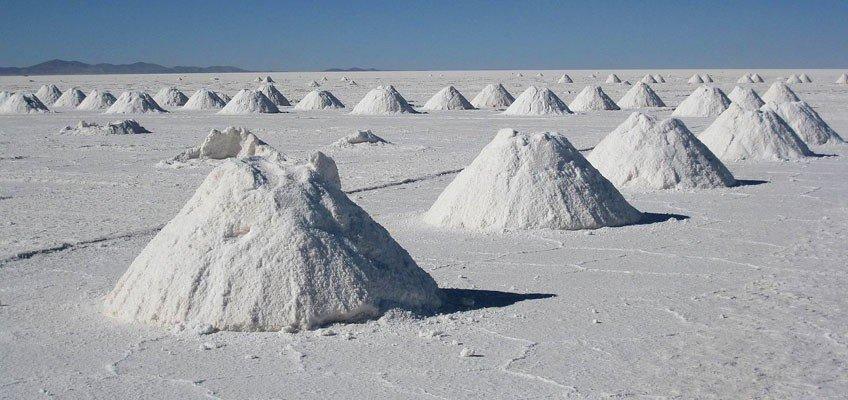 Distesa di sale in Perù