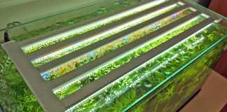Plafoniera LED in stile «termo arredo»